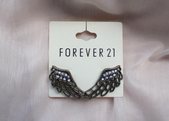Brincos Forever 21- R$ 30,00 + frete